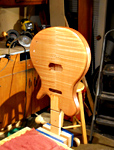 The Carved Back Rosewood Neck Guitar